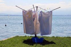 wäsche aufhaengen