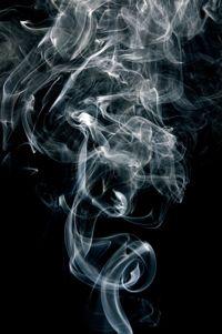 rauch von zigarette