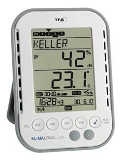 ein modernes thermo-hygrometer mit datenaufzeichnung
