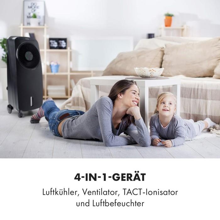 klarstein rotator im wohnzimmer